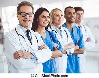 Team of medical doctors - Successful team of medical doctors...