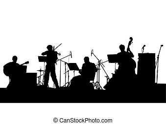 Musical band Vector Clip Art EPS Images. 9,849 Musical band ...
