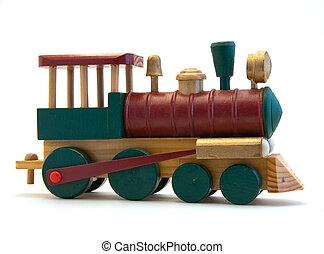 bois, moteur,  train, jouet