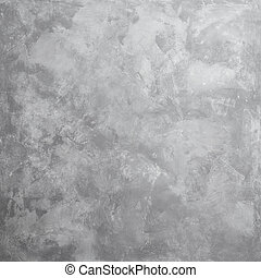 gray concrete wall - Grungy concrete wall and floor as...
