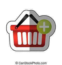 red baskets icon image