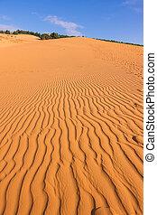The Red Sand Dunes of Mui Ne, Vietnam