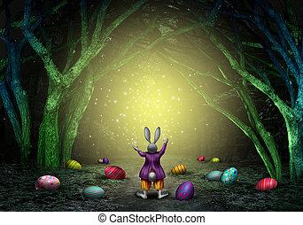 Ostern, Magisches, hintergrund