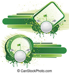 golf design elements - golf sport,vector design elements