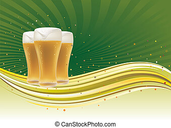 design element for beer - beer design element,abstract...