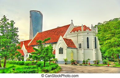 St. Mary Anglican Cathedral in Kuala Lumpur, Malaysia - St....