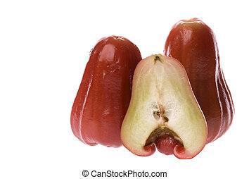 manzana, Guayabas, aislado