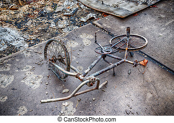 Child's Bicycle Destroyed By Gatlinburg Forest Fire -...