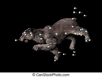 Constellation The Great Bear