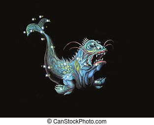 Constellation the Sea Monster (Cetus)