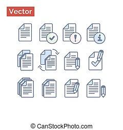 File management variations