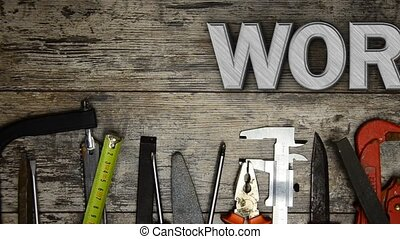 "Word ""WORD"" with lots of tools - Word WORD with lots of..."