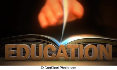 Getting education. Read the book - Read the book. Getting...