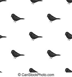Parus icon in black style isolated on white background. Park...