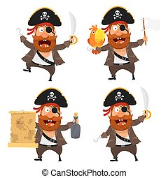 Set pirate character