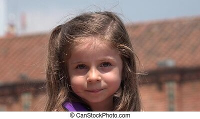 Cute Children Happy Girl