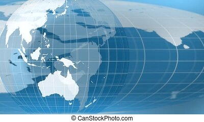 World global news background backdrop planet Earth