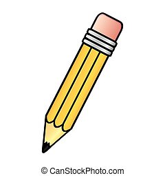pencil icon stock image, vector illustration design