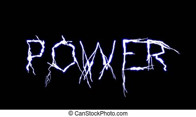 Symbol Of Energy. Power