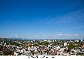Trang Cityscape Thailand - Beautiful Cityscape at Trang...
