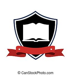 text book emblem icon vector illustration design