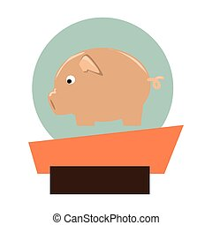 pork animal farm icon