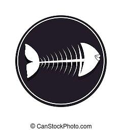 delicious sea food menu icon
