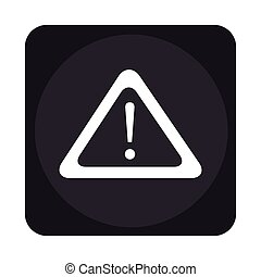 alert symbol isolated icon vector illustration design