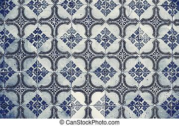decorativo, Português, azulejos, PORTUGAL, vindima,...