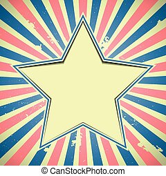star patriotic background