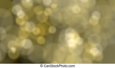 Sparkling light sparks slow motion defocused abstract...
