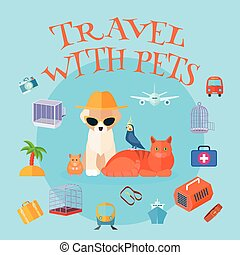 Travel With Pets Background