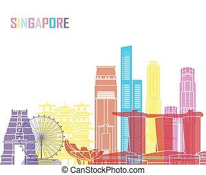 Singapore V2 skyline pop