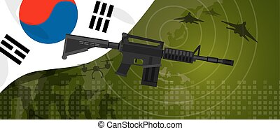 South Korea military power army defense industry war and...
