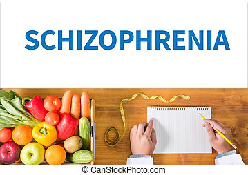 SCHIZOPHRENIA and psychotic woman with schizophrenia during...
