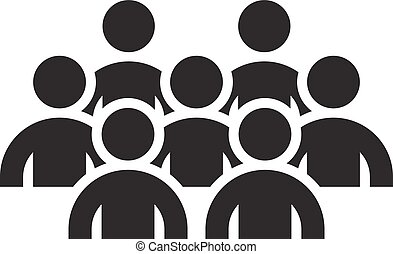 Standing Out Icon. Business Concept. Flat Design. Isolated...