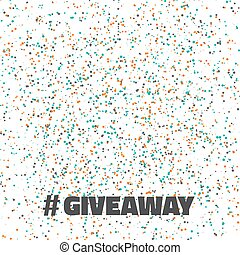 Glittering Confetti Giveaway Competition Template -...