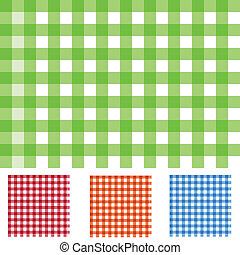 チェッカーの駒, パターン