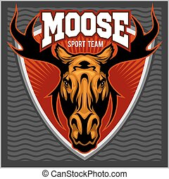 Sport Moose team logo.