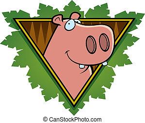 Hippo Safari Icon