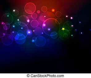 abstract background with glowing dots, eps10 format