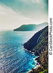 Italian Coast - Coast of Italy in Liguria