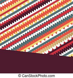 Abstract retro geometric lines vector background texture...