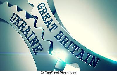 Great Britain Ukraine - Message on the Mechanism of Metallic...