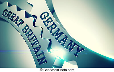 Germany Great Britain - Message on the Mechanism of Shiny...