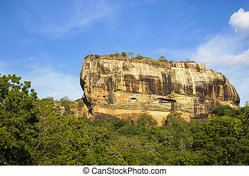 Sigiriya Lions Rock, Sri Lanka - Image of UNESCOs World...