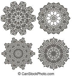 Ornamental Geometric Ornament - Ornamental Line Pattern....