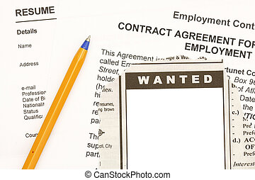 Employment contract - Found a job though ads in the...