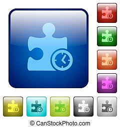 Timer plugin color square buttons - Timer plugin icons in...