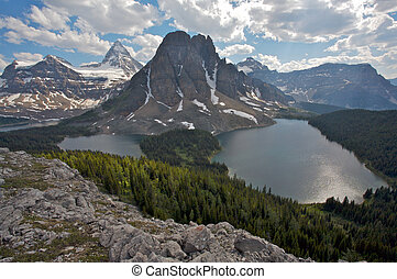 Mount Assiniboine, Canadian Rockies - Mount Assiniboine and...